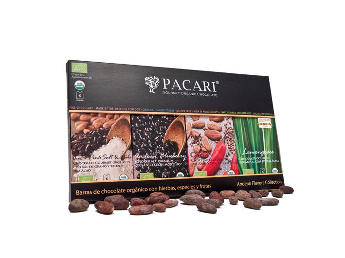 Llegan a España los chocolates Pacari