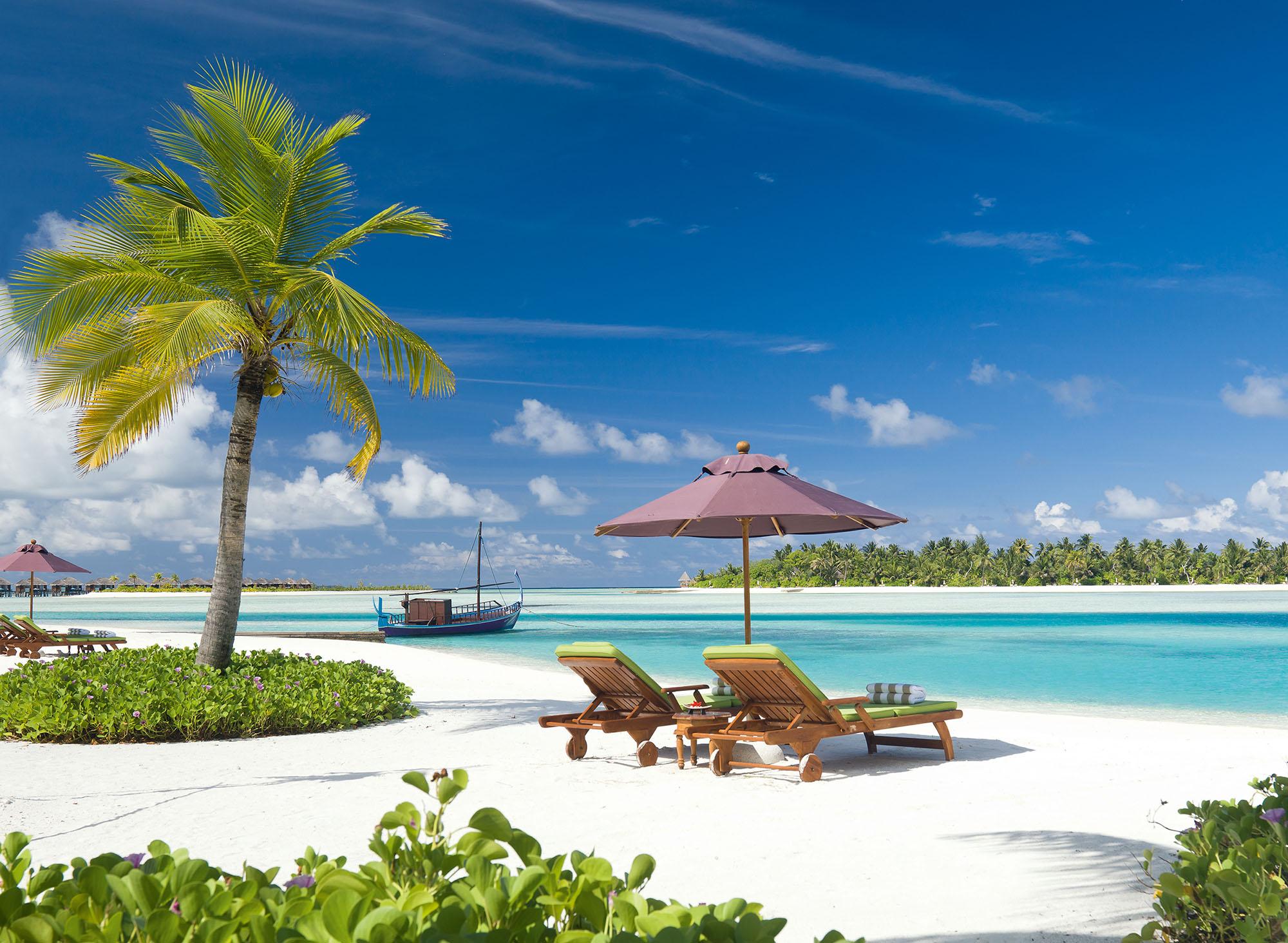 Naladhu island. Isla privada en Mauricio para Nochevieja