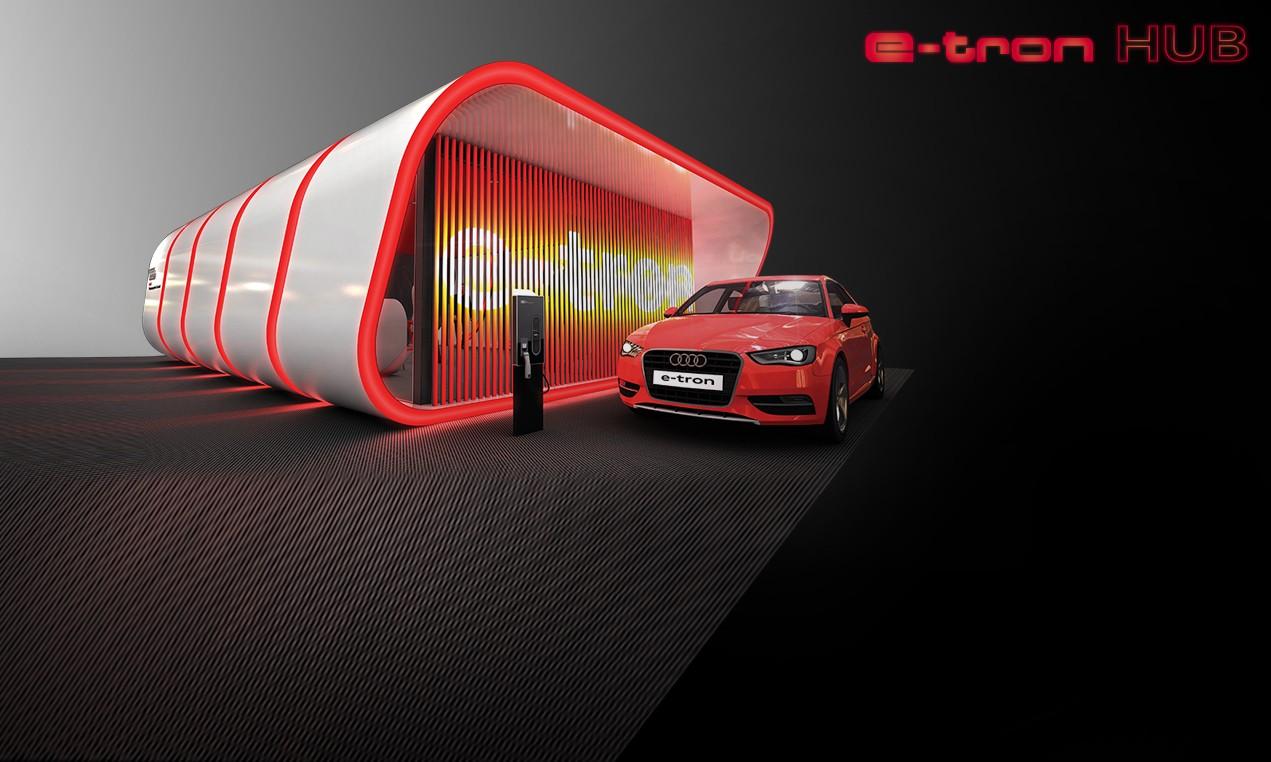 Audi e-tron HUB: Las ciudades del futuro