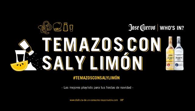 Cambia los villancicos por los 'Temazos con sal y limón' de José Cuervo