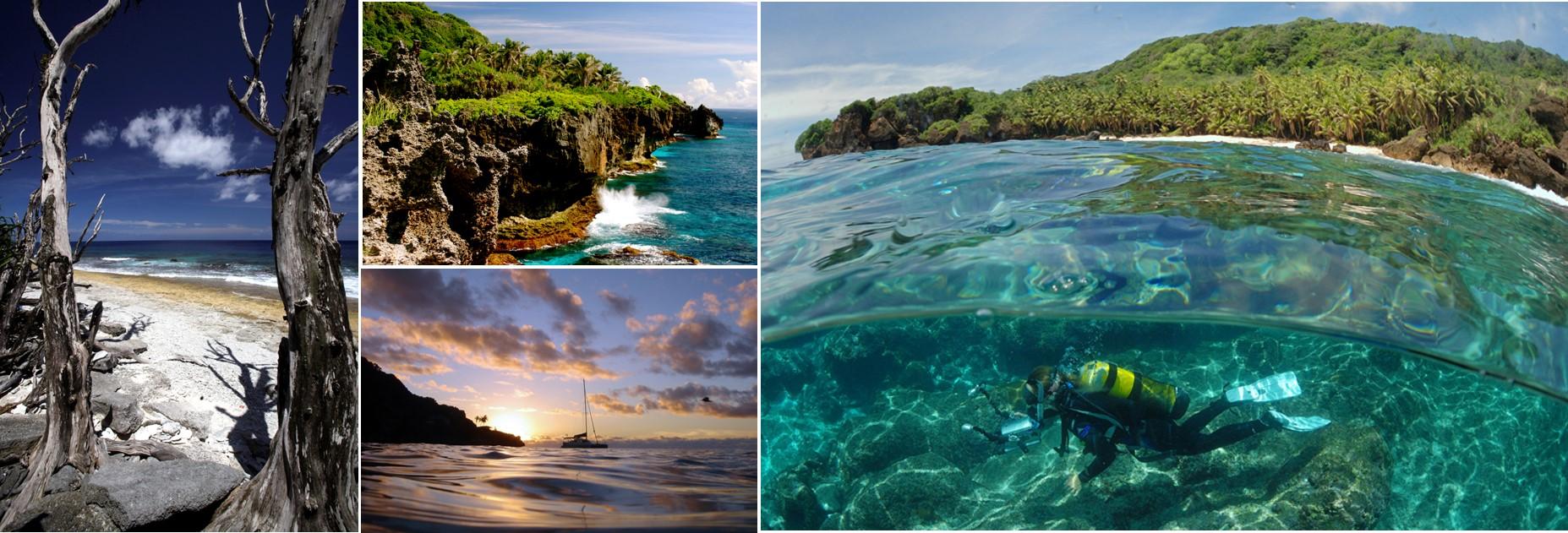 Paisajes de Christmas Island. Inger Vandyke, Erica Harrison, Linda Cash, Justin Gilligan