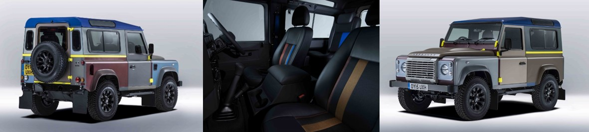 Edición Limitada de Land Rover Defender diseñada por Paul Smith