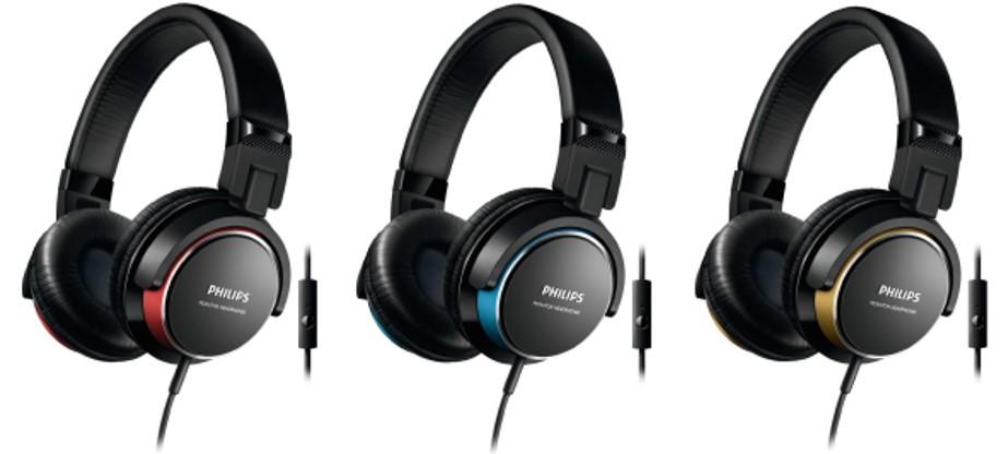 nueva colección de auriculares estilo DJ de la marca Philips.