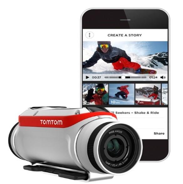 Nueva cámara Bandit de TomTom edita y comparte los vídeos al instante