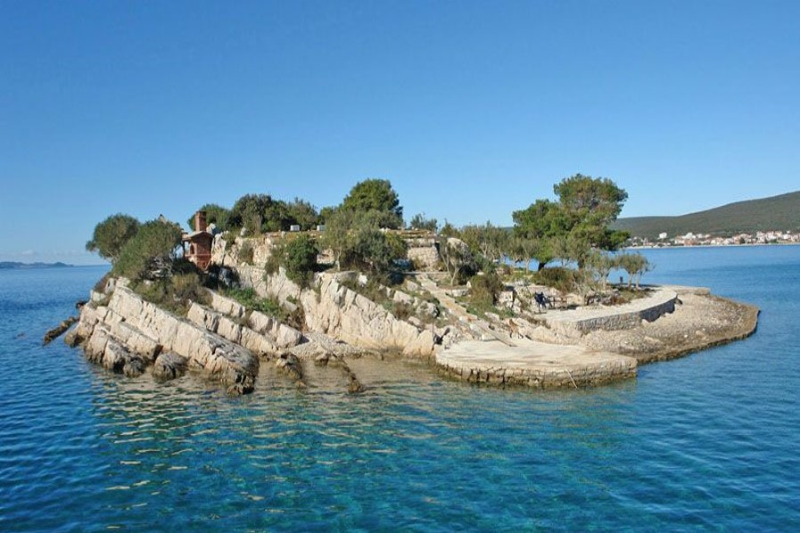 Isla privada Croacia