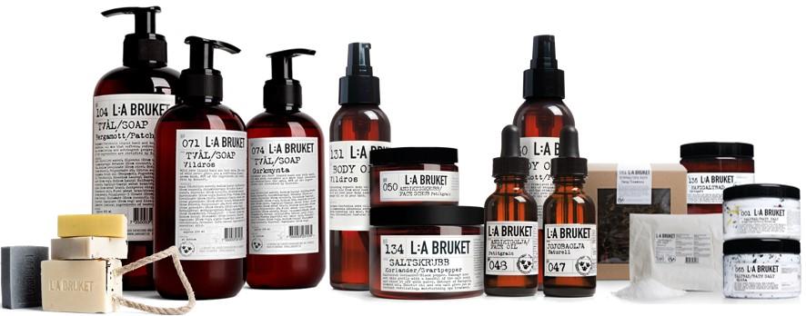 L:A Bruket cosmética sueca, natural, artesana y unisex