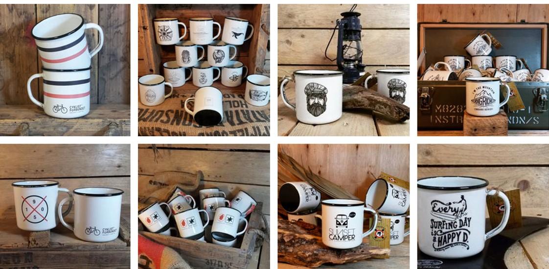 Retropot tazas esmaltadas personalizables de venta online
