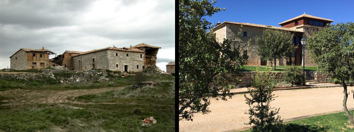 Turismo rural en un pueblo fantasma
