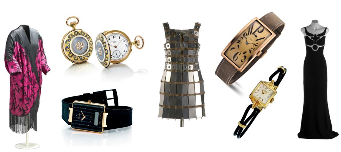 Exposición Vistiendo el tiempo de Tissot en el museo del traje de Madrid