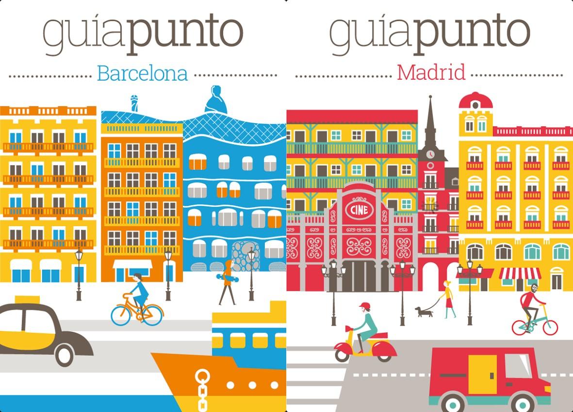 Madrid y Barcelona en tu móvil, con Guías Punto