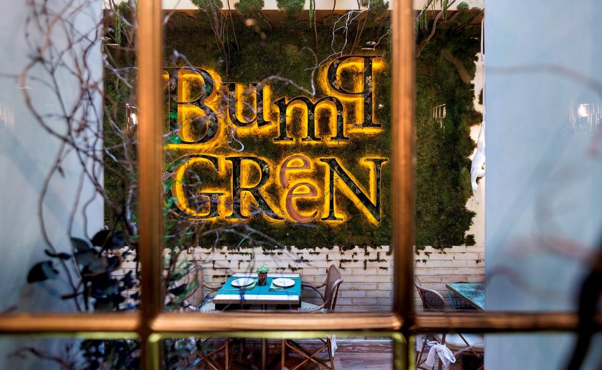 Todo al verde en el nuevo restaurante BumpGreen