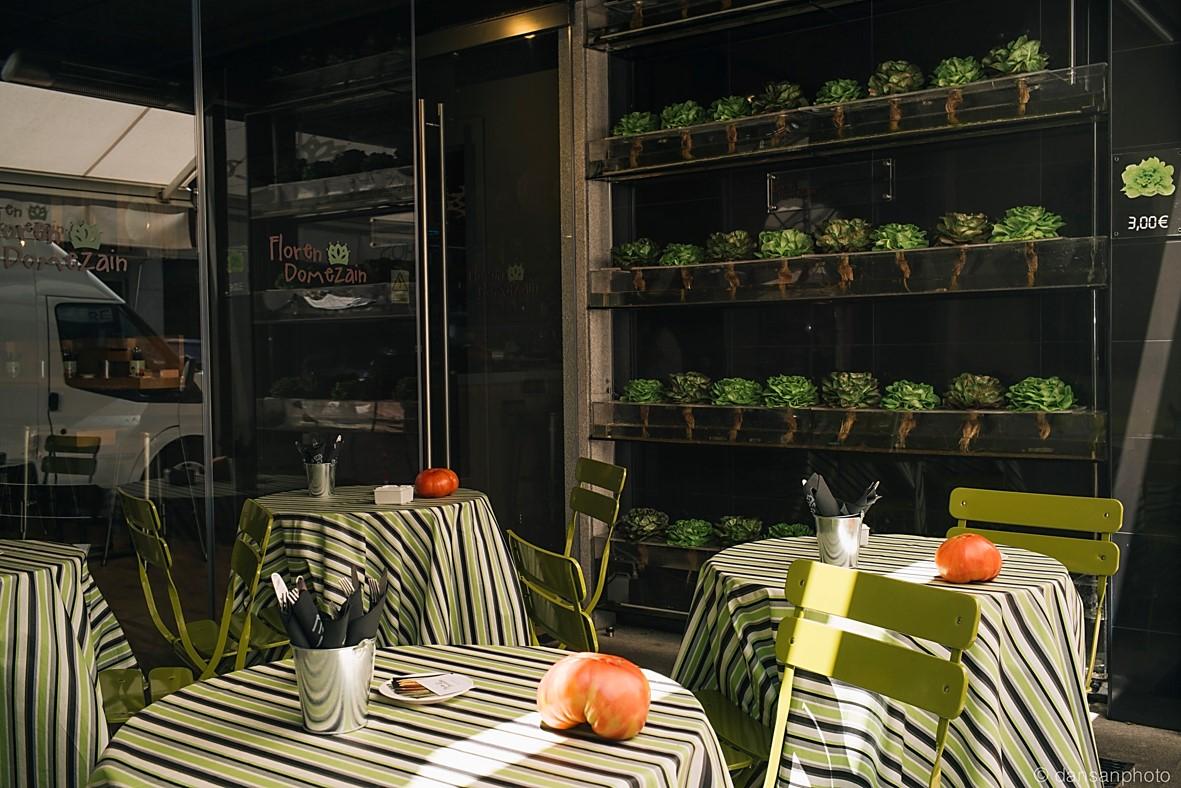 Floren Domezain, las verduras de Tudela toman Madrid