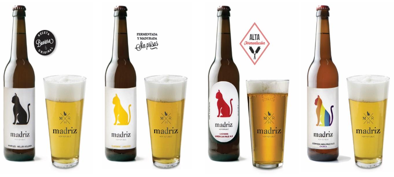 Cerveza artesana Madriz Hop Republic