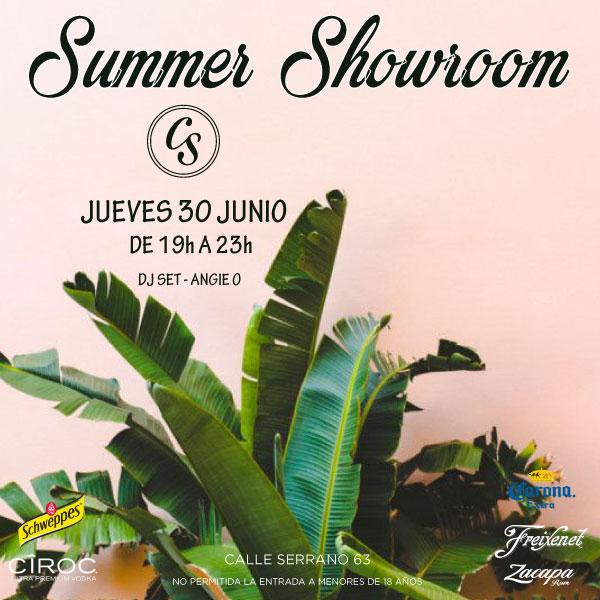 Summer Showroom El Callejón de Serrano