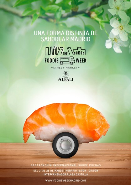 Cartel The Foodie Week Primavera 2 mini