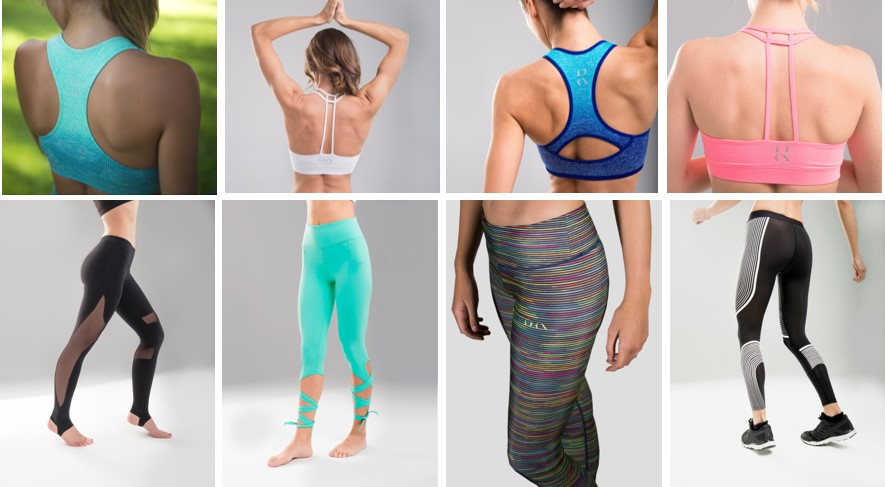 Born Living Club ropa deportiva yoga
