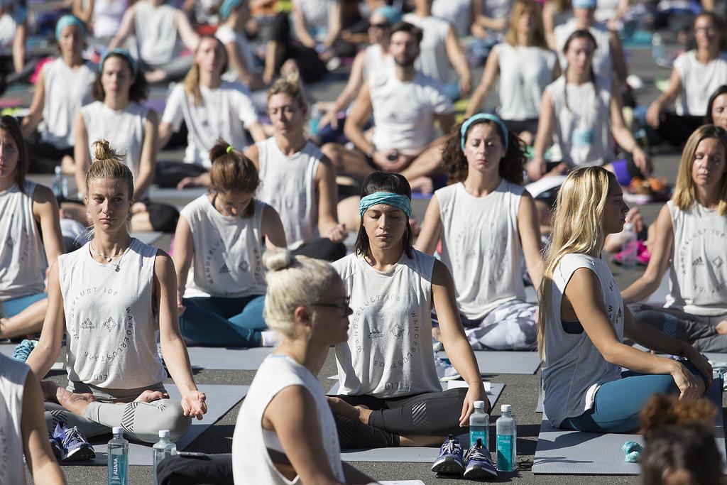 Wanderlust 108 Festival yoga
